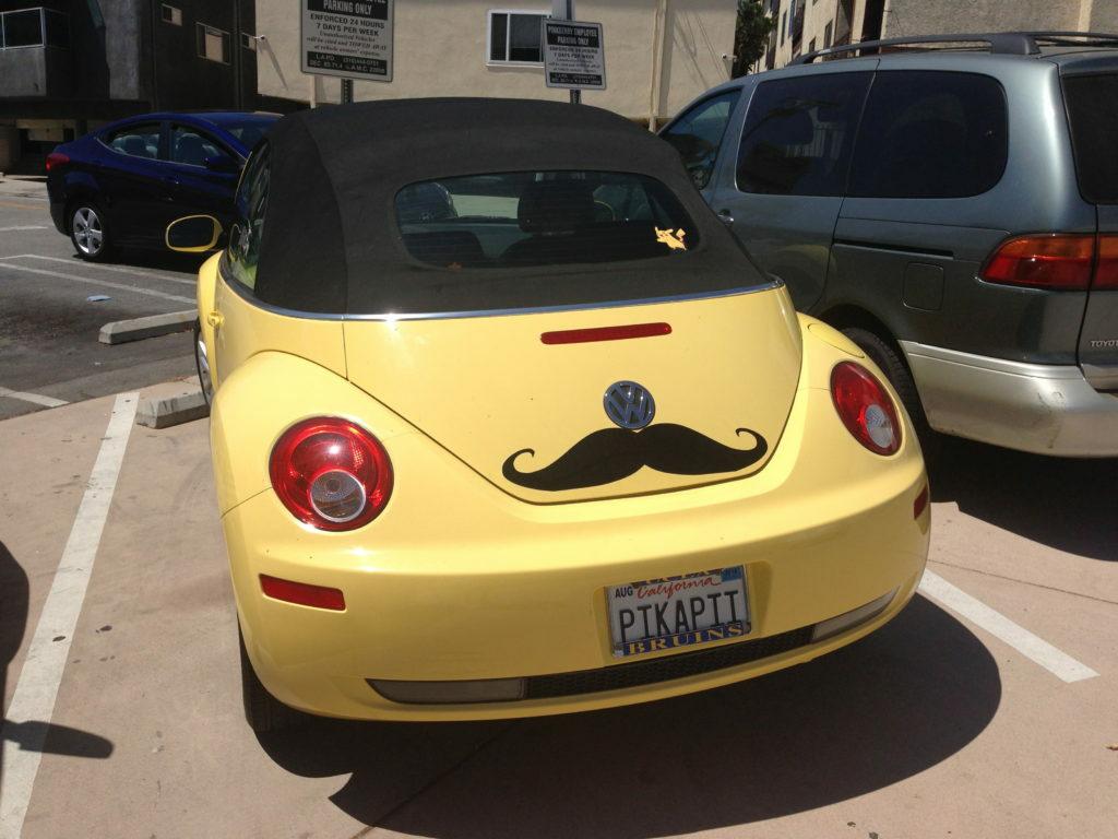 Bumper Sticker Moustache
