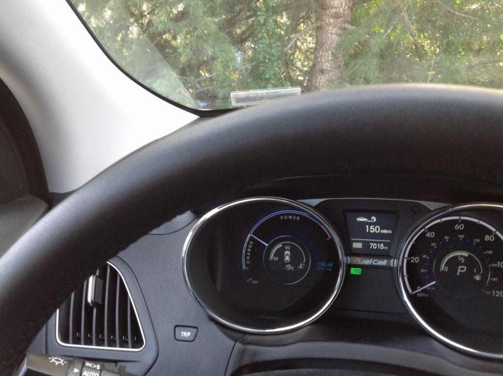 Hyundai Tucson F cell hydrogen