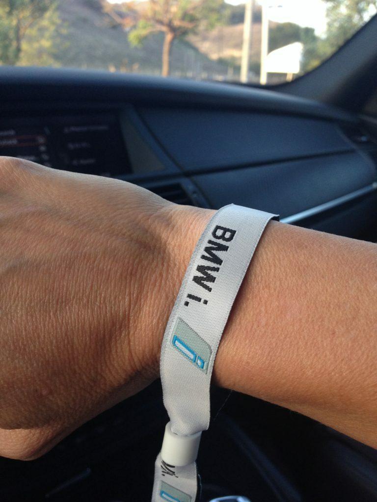 BMW i3 wristband