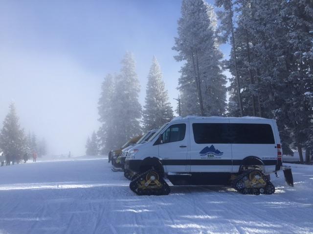 Mmmm... Snowcat Mercedes