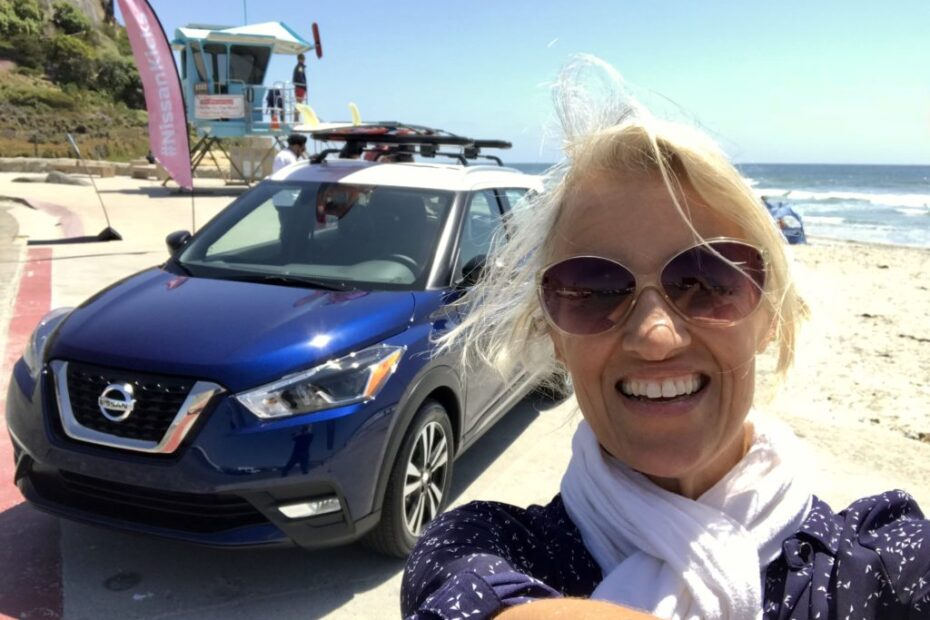 skincare behind the wheel
