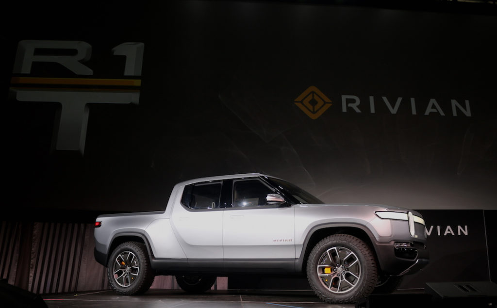 Rivian Electric Truck RT1