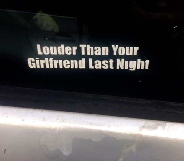 cringiest bumper sticker