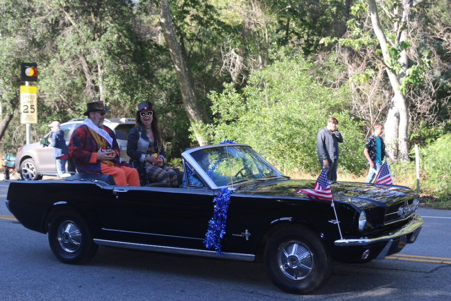 Topanga Days parade