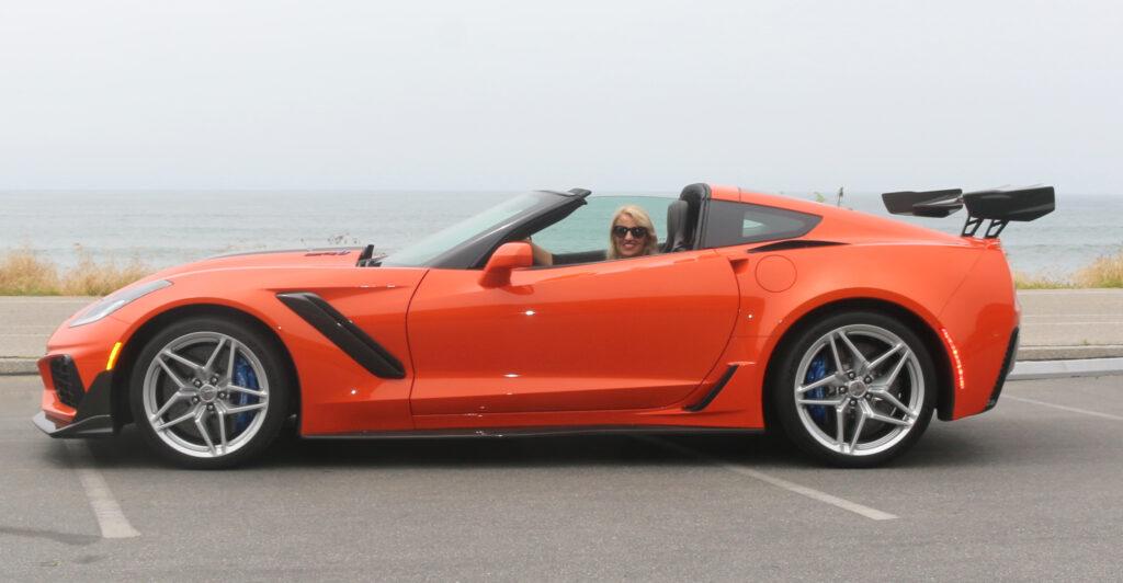 women test drive