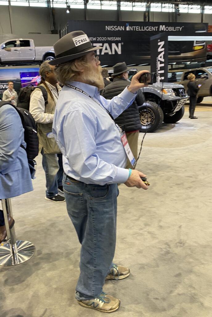 automotive journalist dbag