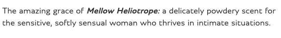 bentley perfum Heliotrope