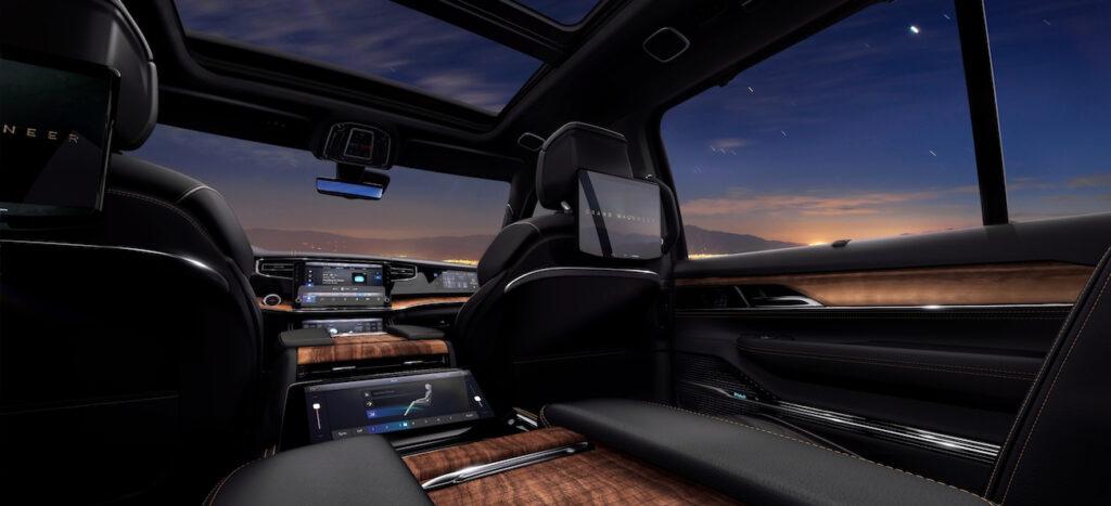 interior Grand Wagoneer